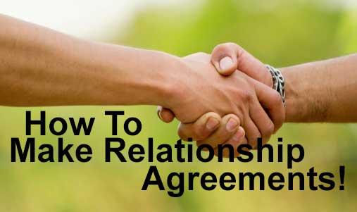 Relationship Agreements Worksheet Download
